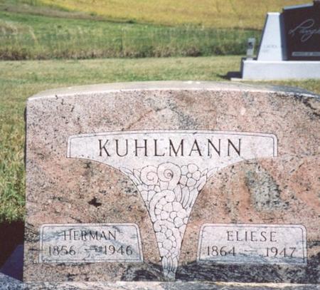 KUHLMANN, HERMAN & ELIESE - Crawford County, Iowa   HERMAN & ELIESE KUHLMANN