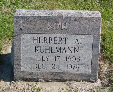 KUHLMANN, HERBERT A. - Crawford County, Iowa | HERBERT A. KUHLMANN