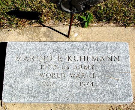 KUHLMANN, MARINO E. - Crawford County, Iowa | MARINO E. KUHLMANN