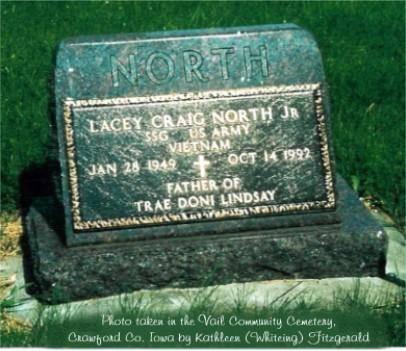 NORTH, LACEY CRAIG (JR.) - Crawford County, Iowa | LACEY CRAIG (JR.) NORTH