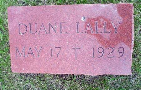 LALLY, DUANE - Crawford County, Iowa | DUANE LALLY