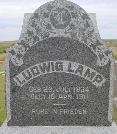 LAMP, LUDWIG - Crawford County, Iowa | LUDWIG LAMP