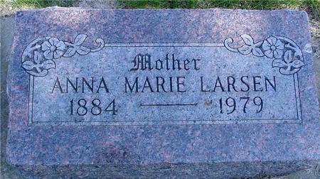 LARSEN, ANNA MARIE - Crawford County, Iowa   ANNA MARIE LARSEN