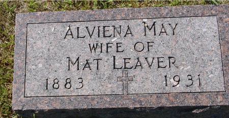 LEAVER, ALVIENA MAY - Crawford County, Iowa | ALVIENA MAY LEAVER