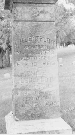 KNAACK LEHFELDT, EMELIE - Crawford County, Iowa | EMELIE KNAACK LEHFELDT