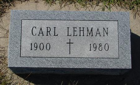 LEHMAN, CARL - Crawford County, Iowa | CARL LEHMAN