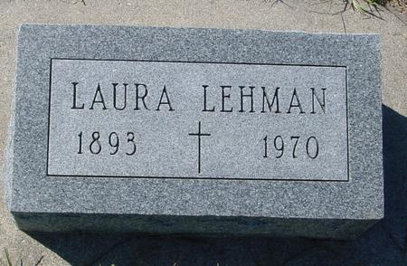 LEHMAN, LAURA - Crawford County, Iowa | LAURA LEHMAN