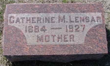 LENSAR, CATHERINE M. - Crawford County, Iowa | CATHERINE M. LENSAR