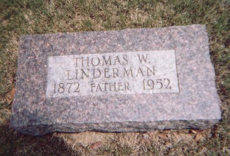 LINDERMAN, THOMAS - Crawford County, Iowa | THOMAS LINDERMAN