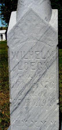 LOECK, WILHELM - Crawford County, Iowa | WILHELM LOECK