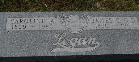 LOGAN, JAMES & CAROLINE - Crawford County, Iowa | JAMES & CAROLINE LOGAN