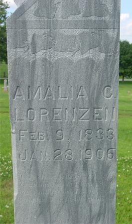 LORENZEN, AMALIA C. - Crawford County, Iowa   AMALIA C. LORENZEN