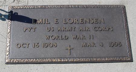 LORENZEN, EMIL E. - Crawford County, Iowa | EMIL E. LORENZEN