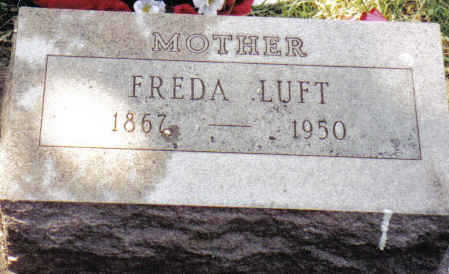 OTTO LUFT, FREIDA - Crawford County, Iowa | FREIDA OTTO LUFT