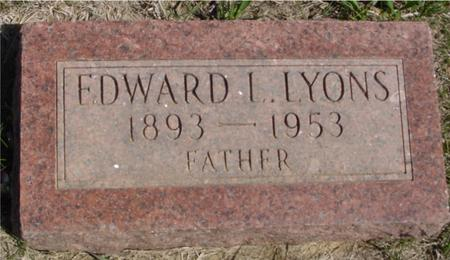 LYONS, EDWARD L. - Crawford County, Iowa | EDWARD L. LYONS