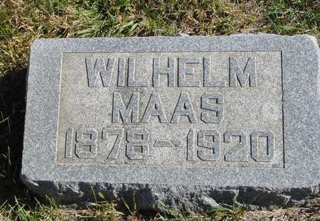 MAAS, WILHELM - Crawford County, Iowa   WILHELM MAAS