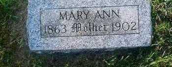 MALLOY, MARY ANN - Crawford County, Iowa | MARY ANN MALLOY