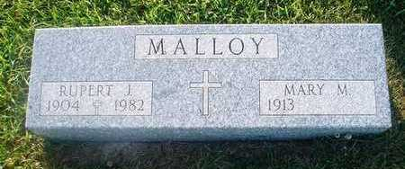 MALLOY, MARY M. - Crawford County, Iowa | MARY M. MALLOY