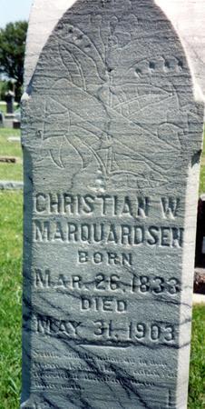 MARQUARDSEN, CHRISTIAN W. - Crawford County, Iowa | CHRISTIAN W. MARQUARDSEN