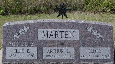 MARTEN, ARTHUR & ELSIE - Crawford County, Iowa   ARTHUR & ELSIE MARTEN