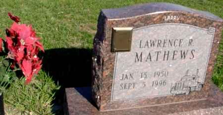 MATHEWS, LAWRENCE R. - Crawford County, Iowa | LAWRENCE R. MATHEWS