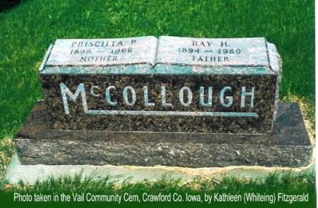 MCCOLLOUGH, RAY H. & PRISCILLA P. - Crawford County, Iowa | RAY H. & PRISCILLA P. MCCOLLOUGH