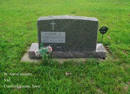 MCCULLOUGH, JOSEPH - Crawford County, Iowa | JOSEPH MCCULLOUGH