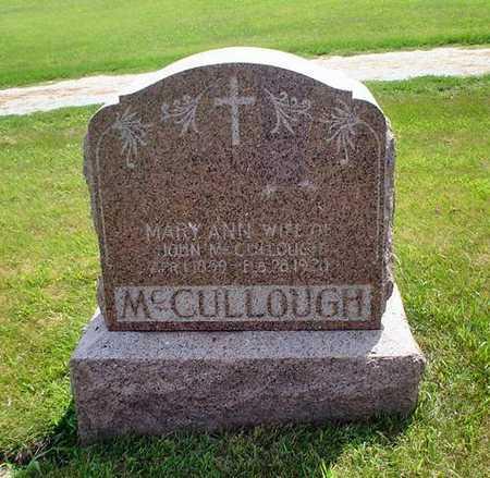 MCCULLOUGH, MARY ANN - Crawford County, Iowa | MARY ANN MCCULLOUGH