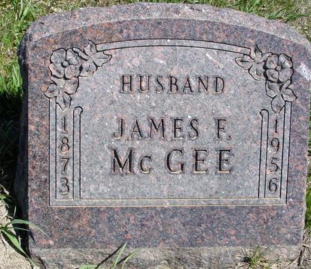 MCGEE, JAMES F. - Crawford County, Iowa | JAMES F. MCGEE