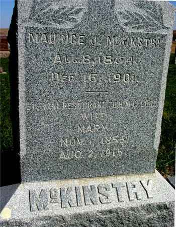 MCKINSTRY, MAURICE L. & MARY - Crawford County, Iowa   MAURICE L. & MARY MCKINSTRY