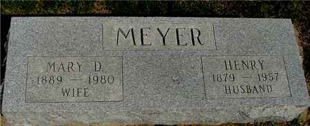 MEYER, HENRY & MARY D. - Crawford County, Iowa | HENRY & MARY D. MEYER