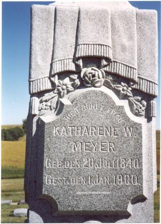 MEYER, KATHARENE W. - Crawford County, Iowa | KATHARENE W. MEYER
