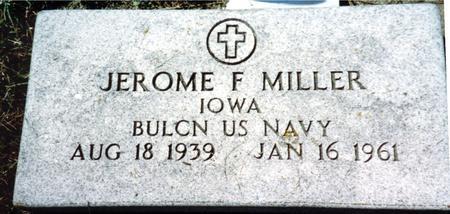 MILLER, JEROME F. - Crawford County, Iowa | JEROME F. MILLER