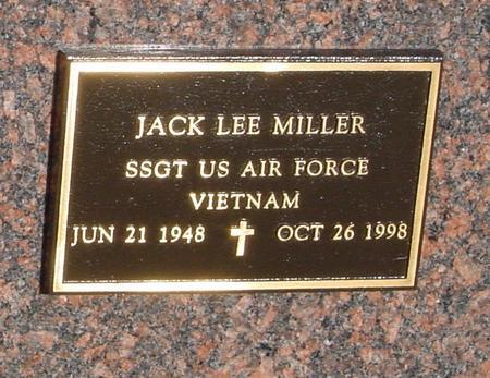 MILLER, JACK LEE - Crawford County, Iowa   JACK LEE MILLER