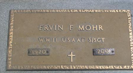 MOHR, ERVIN F. - Crawford County, Iowa | ERVIN F. MOHR