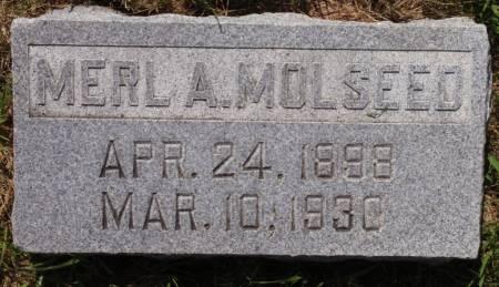 MOLSEED, MERL A. - Crawford County, Iowa | MERL A. MOLSEED