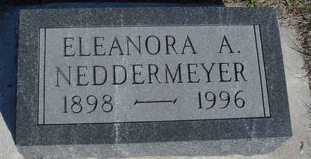 NEDDERMEYER, ELEANORA A. - Crawford County, Iowa | ELEANORA A. NEDDERMEYER