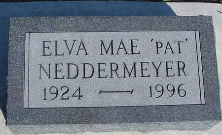 NEDDERMEYER, ELVA MAE - Crawford County, Iowa | ELVA MAE NEDDERMEYER