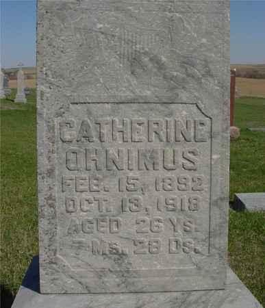 OHNIMUS, CATHERINE - Crawford County, Iowa | CATHERINE OHNIMUS