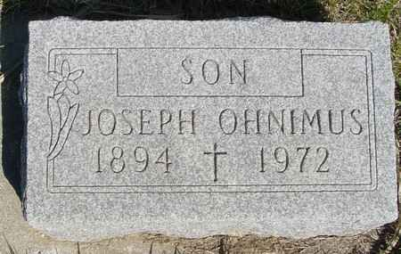 OHNIMUS, JOSEPH - Crawford County, Iowa | JOSEPH OHNIMUS