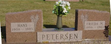 PETERSEN, HANS & FRIEDA - Crawford County, Iowa | HANS & FRIEDA PETERSEN