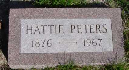 PETERS, HATTIE - Crawford County, Iowa | HATTIE PETERS