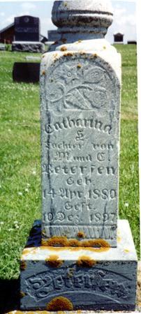 PETERSEN, CATHARINA - Crawford County, Iowa | CATHARINA PETERSEN