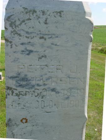 PETERSEN, PETER J. - Crawford County, Iowa | PETER J. PETERSEN