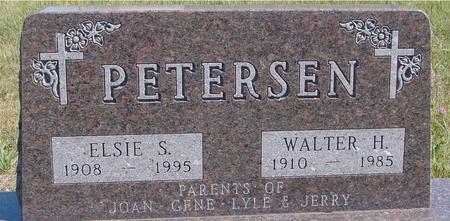 PETERSEN, WALTER & ELSIE - Crawford County, Iowa | WALTER & ELSIE PETERSEN