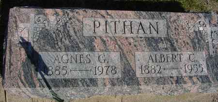 PITHAN, ALBERT  &  AGNES G. - Crawford County, Iowa | ALBERT  &  AGNES G. PITHAN