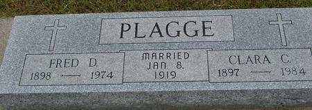 PLAGGE, FRED & CLARA - Crawford County, Iowa | FRED & CLARA PLAGGE