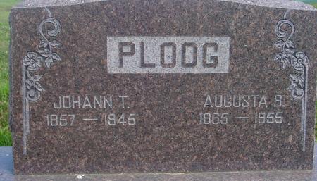 PLOOG, JOHANN & AUGUSTA - Crawford County, Iowa | JOHANN & AUGUSTA PLOOG