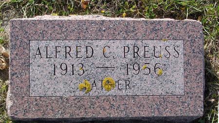 PREUSS, ALFRED C. - Crawford County, Iowa   ALFRED C. PREUSS