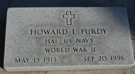 PURDY, HOWARD L. - Crawford County, Iowa | HOWARD L. PURDY